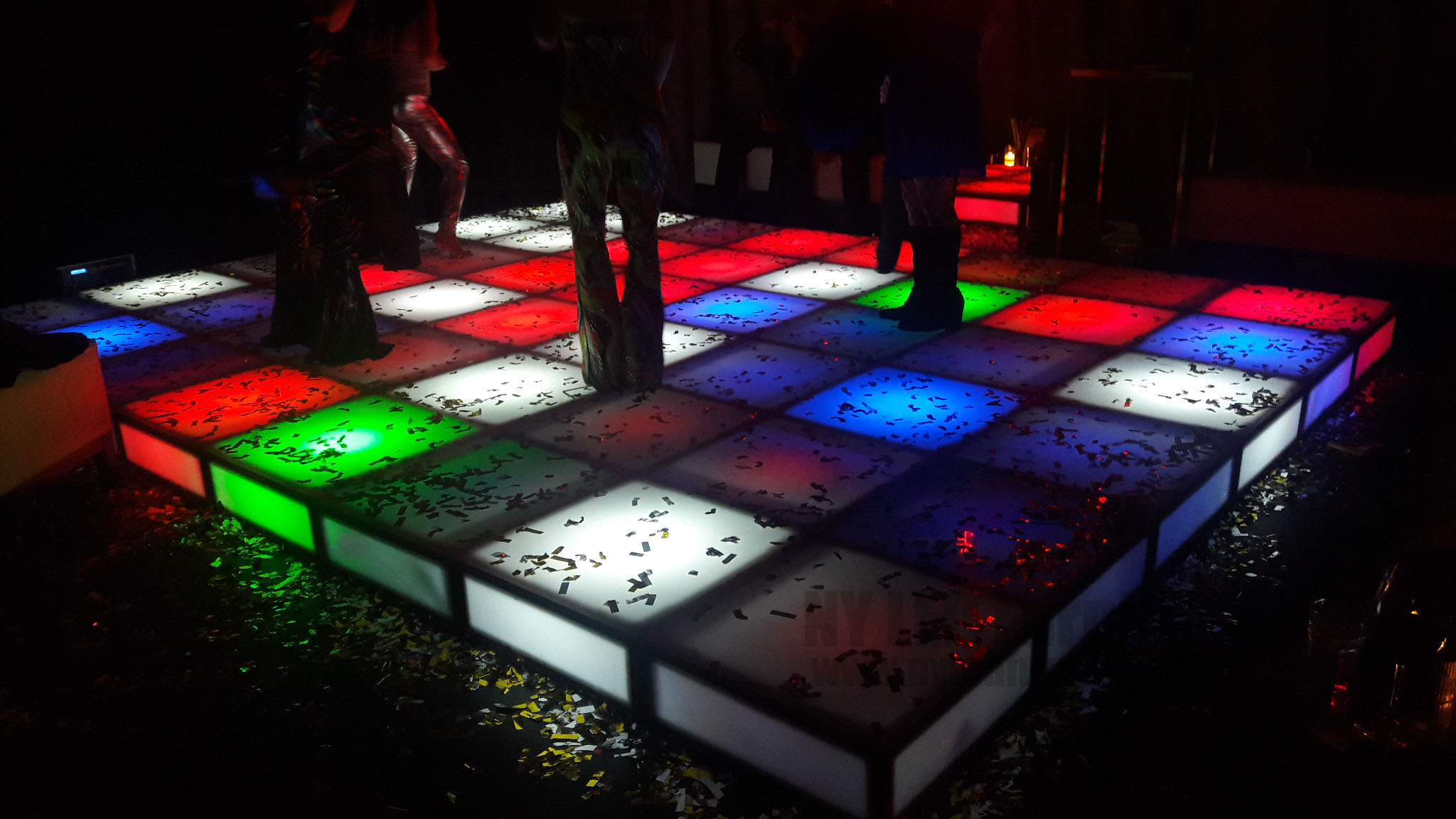 Rent LED Light Up Dance Floor NYC