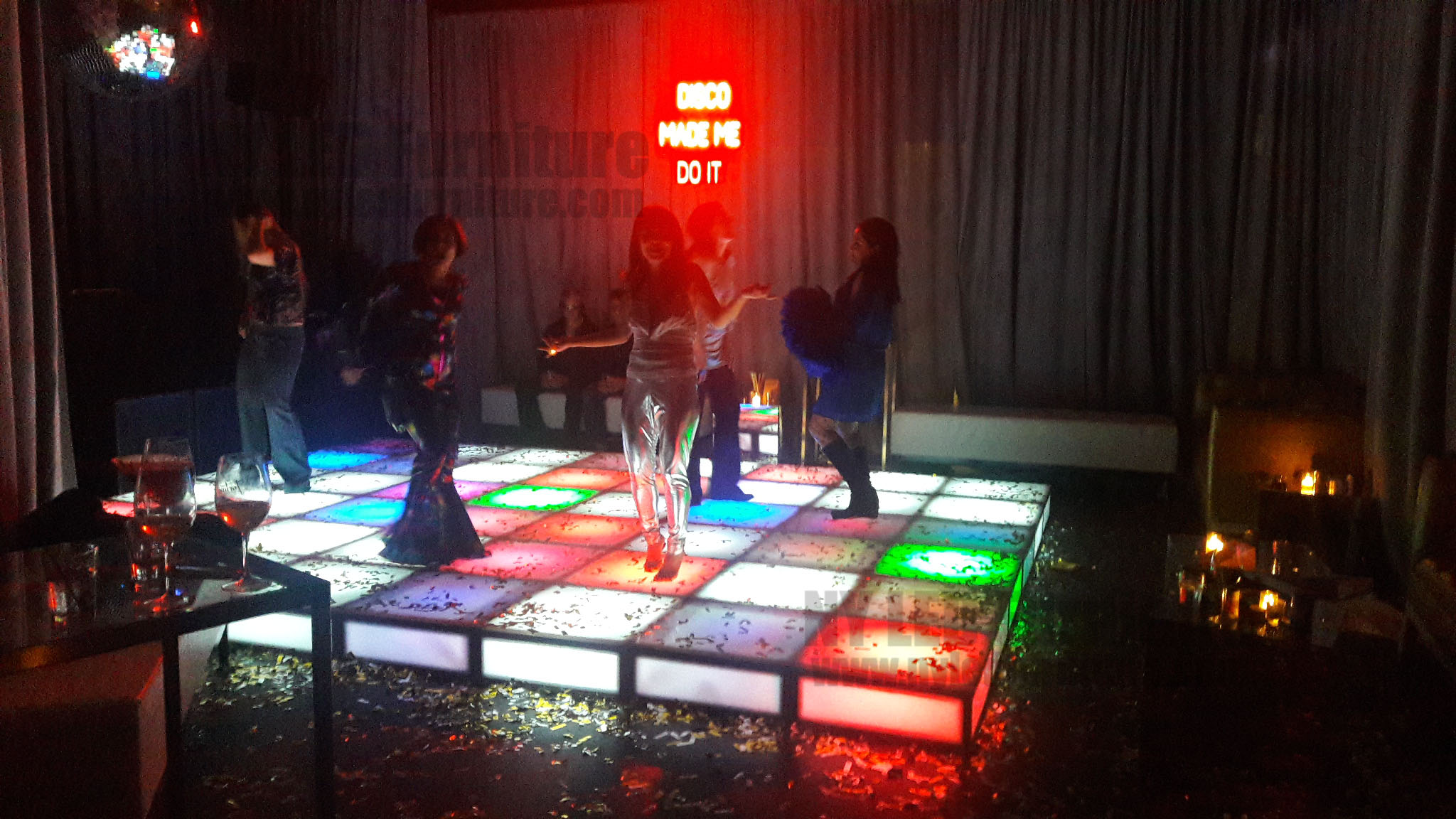 Rent LED Lighted Dance Floor NYC