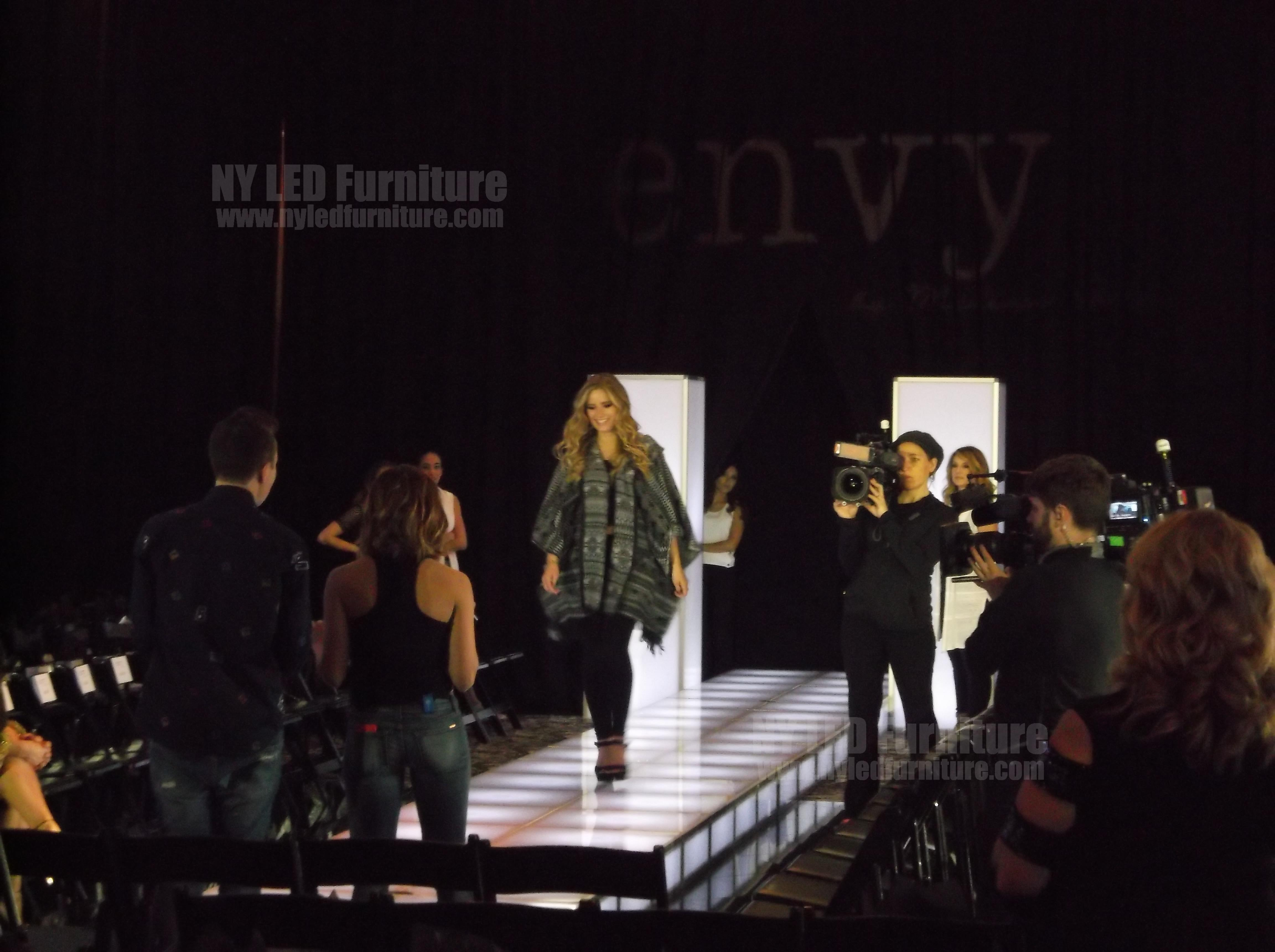 Envy by Melissa Gorga Fashion Show Runway Rental Practice