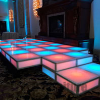 LED Event Wedding Stage Rental