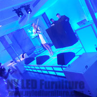 LED Lounge Stage Rental