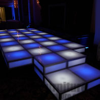 LED Lounge Wedding Stage Rental