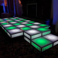 LED Party Wedding Stage Rental