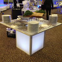 Glow Banquet Tables | CT Rentals
