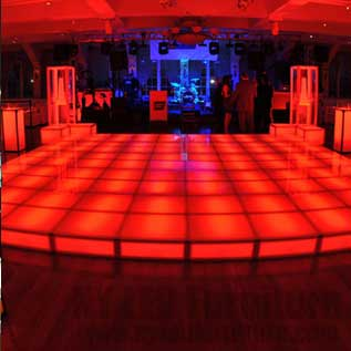 Rent LED Illuminated Dance Floor