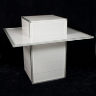 Cocktail Table with Shelf | Rentals and Sales