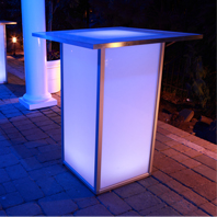 Glow Cocktail Tables | CT Rentals