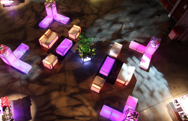 NYC & Long Island | LED Dance Floor and Lounge Furniture Rentals