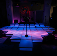 LED Dance and Band Stage Rental NYC