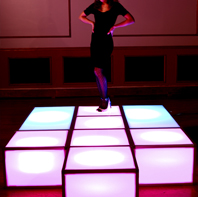 LED Dance Stage Rental Display CT