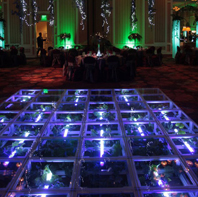 Clear Acrylic Dance Stage Rental Long Island