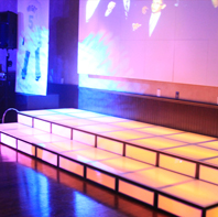 Long LED Dance Stage Rental CT