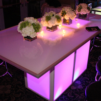Glowing Banquet Table