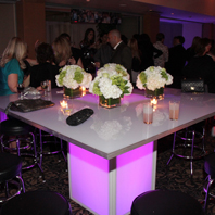 LED Glowing Banquet Table