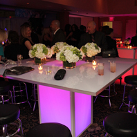 Pink LED Banquet Table