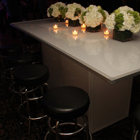 Renting LED Banquet Table