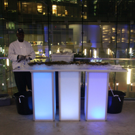 LED Serving Banquet Table