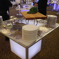 Rent Glowing Banquet Table