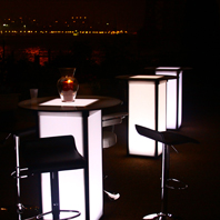 Outdoor LED Table Rentals in Long Island