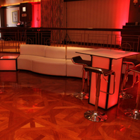 LED lit Event Table Rentals NYC