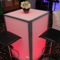 Long Island LED Cocktail Table Rentals