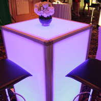 Rent Bright LED Tables Long Island