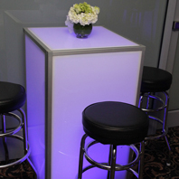 LED Party Table Rentals In New York City