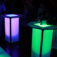 LED Table Rentals for Party in New York City