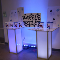 Company LED Party Table Rental New York City