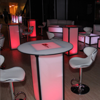 Company LED Party Table Rental in New Jersey