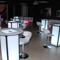 Rental LED Tables for NJ Party