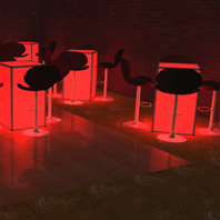 LED Cocktail Table Rentals NYC - Staten Island
