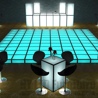 LED Dance Floor Rentals
